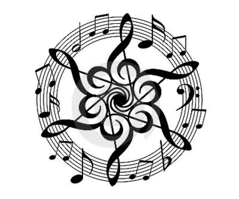 Music Our Common Tie Eighth Note